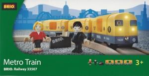Brio Metro Train
